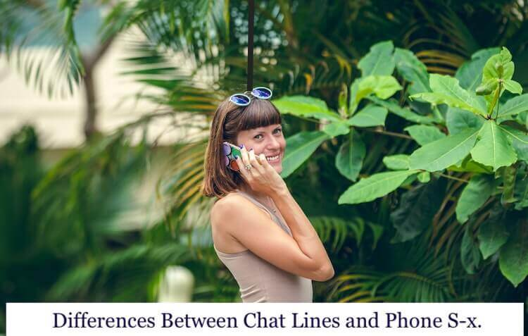 Differences Between a Chat Line and a Phone Sex Line image